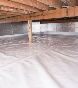 Crawl E Insulation With Silverglo